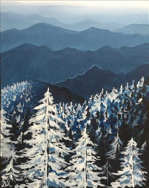 Smoky Mountains in Winter - Adults