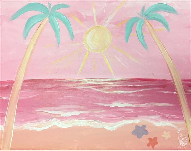 After School Art - Bubblegum Star Beach