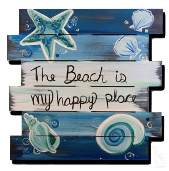 Limited Seating! - The Beach Shiplap Pallet