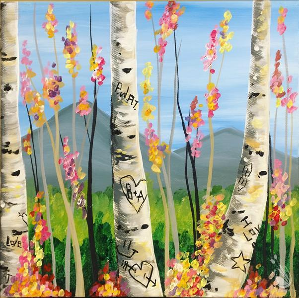 Graffiti Aspens - In Studio