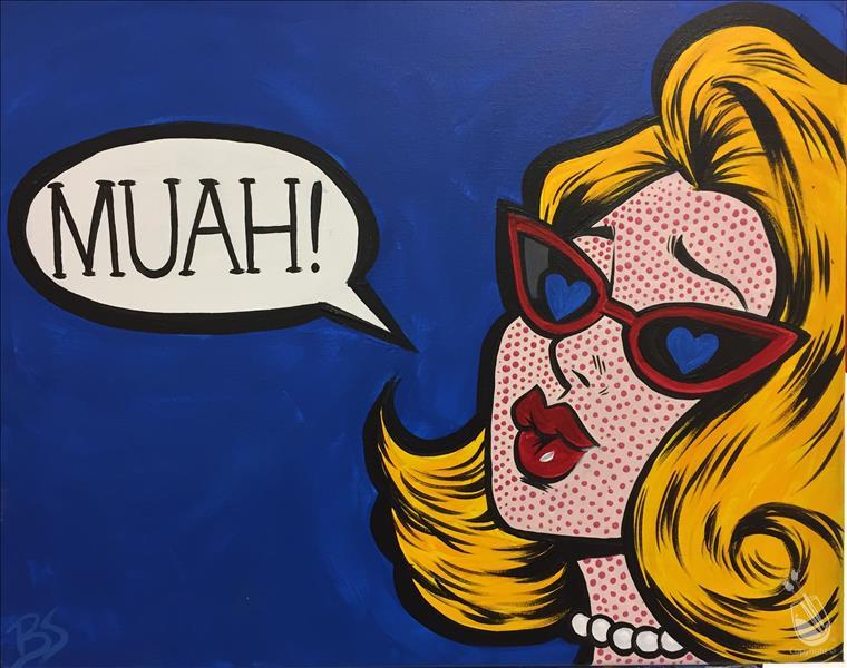 SUMMER OF POP! - Muah! Pop Art