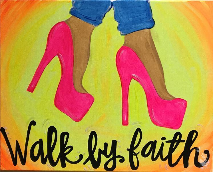 How to Paint Walk by Faith  Customize