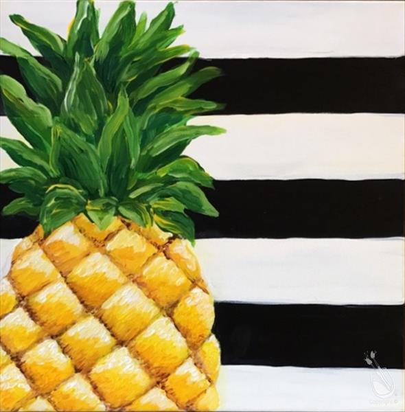 How to Paint Pineapple Passion