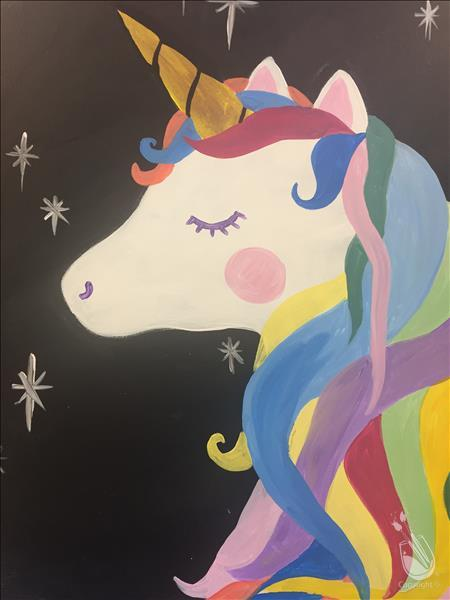 Kids Camp Day 2: Sparkle Unicorn (7+)