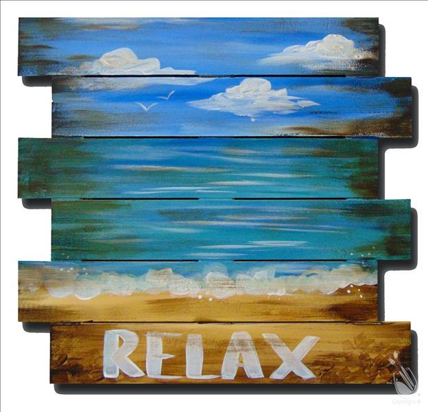 Relax Pallet  **LIMITED SEATING**