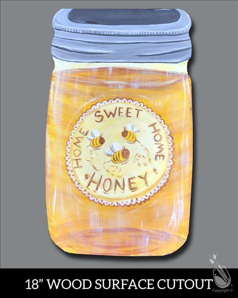 Home Sweet Honey Cutout