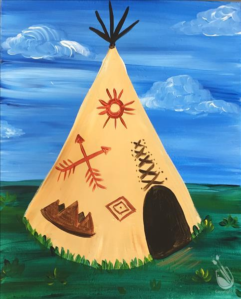 Kids Teepee/ Family Fun ages 6 and up