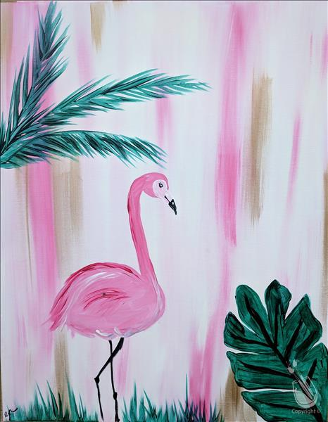 Hip Flamingo