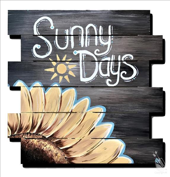 Sunny Days Pallet (Ages 10+)*LIMITED SEATING*
