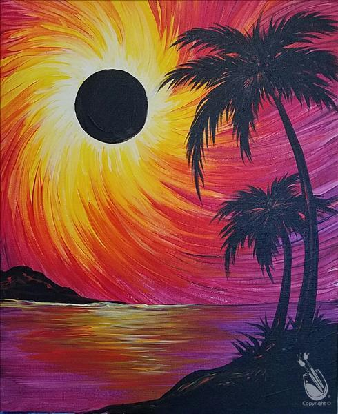 How to Paint Eclipse in Paradise