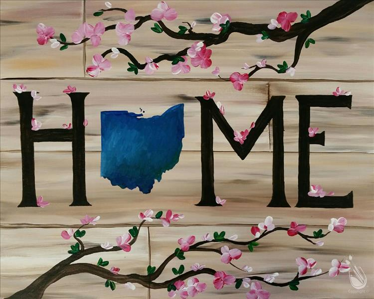 How to Paint Home Sweet Ohio
