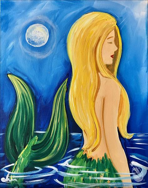 Mysterious Moon Maiden - Mermaid