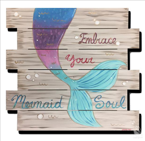 AFTERNOON ART: $5.00 OFF Mermaid Soul Pallet