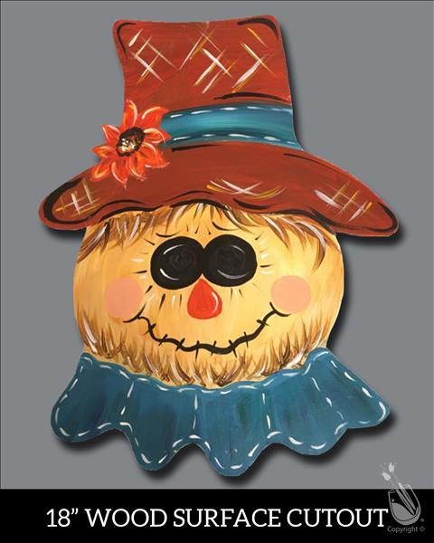 Fall Scarecrow Cutout - Limited Seats