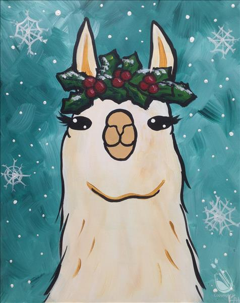 How to Paint Alpaca the Gifts *Family Day*