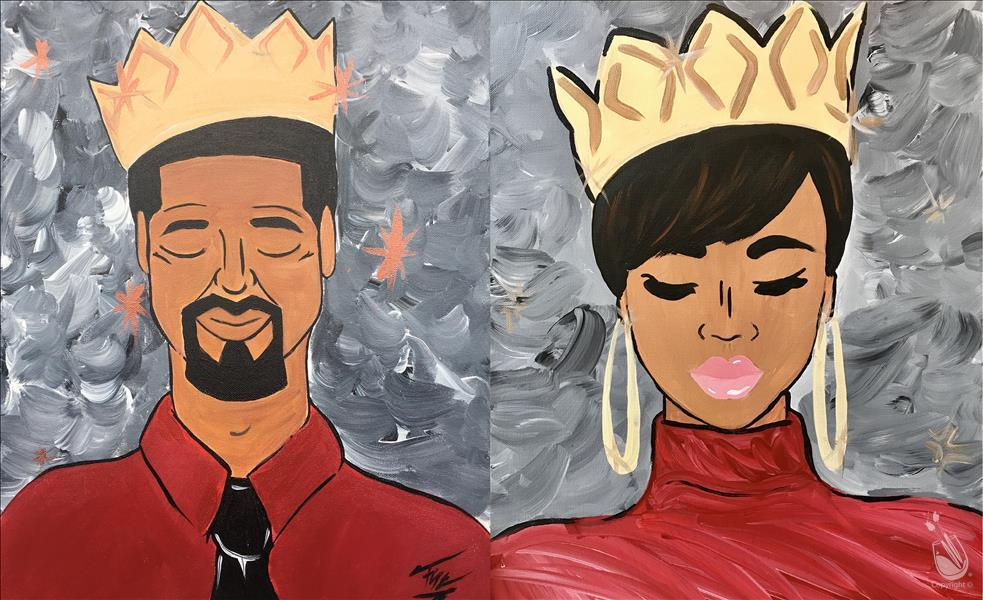 How to Paint Queenie & King Me - Set  {Customize 2 MYO}