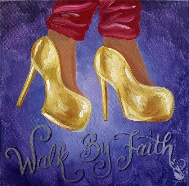 "Golden Walk by Faith - ""In Studio"""