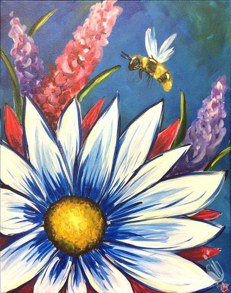 How to Paint **SENIORS DAY** Daisy Bee