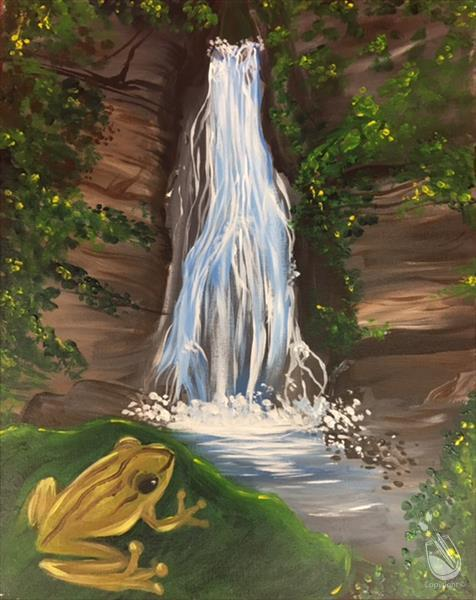 How to Paint Rain Forest Falls