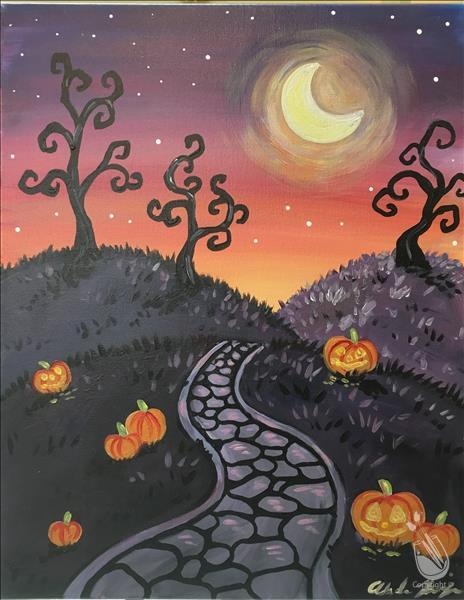 Spooky Walkway - Adult Class - 18&Up