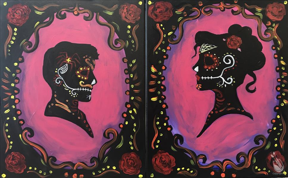 How to Paint *COUPLES CLASS* Day of the Dead