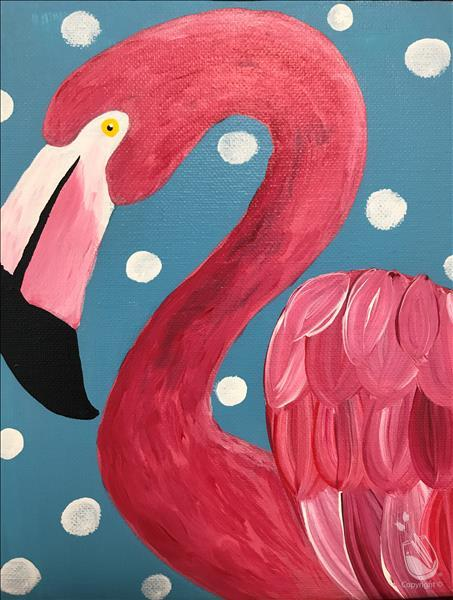 Kid's Camp Day One- Flamingo