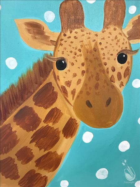 Kid's Camp Day 2 - Giraffe