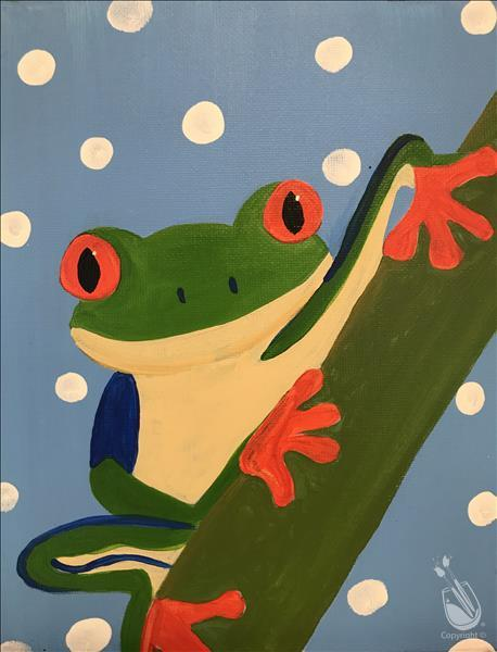 Kid's Camp Day 4 - Frog