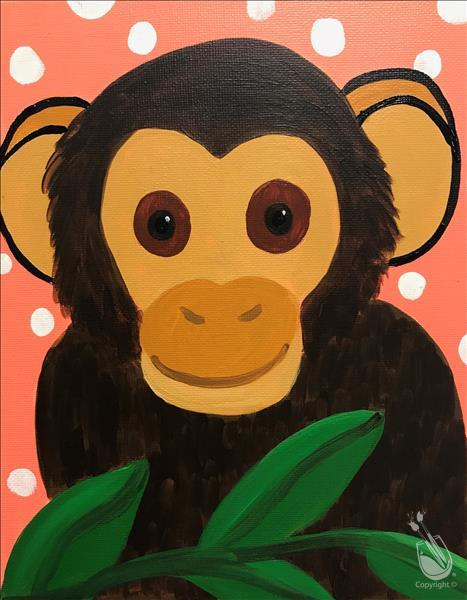 Animal Series-Monkey Kids Club-In Studio Class!!!