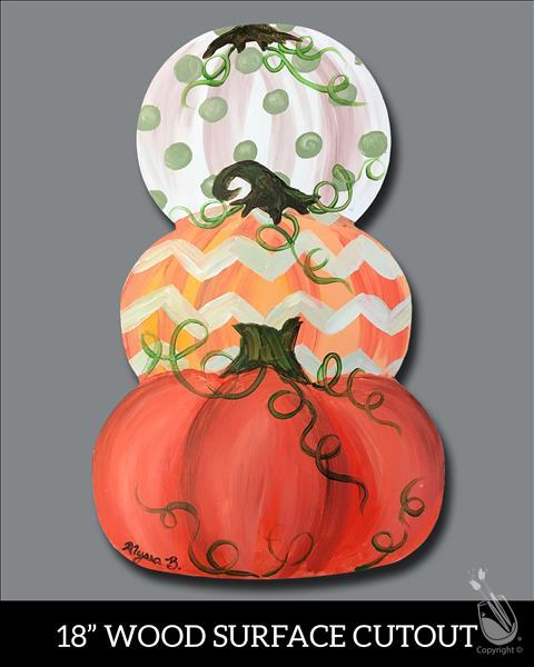 Vintage Pumpkins Cutout **LIMITED SEATING**