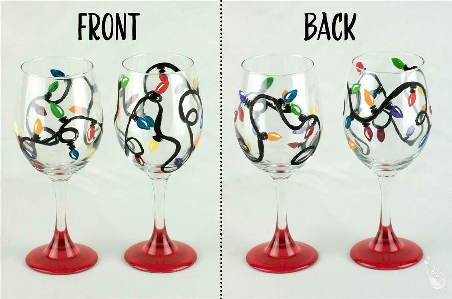 Manic Monday Wine Glass Set 35