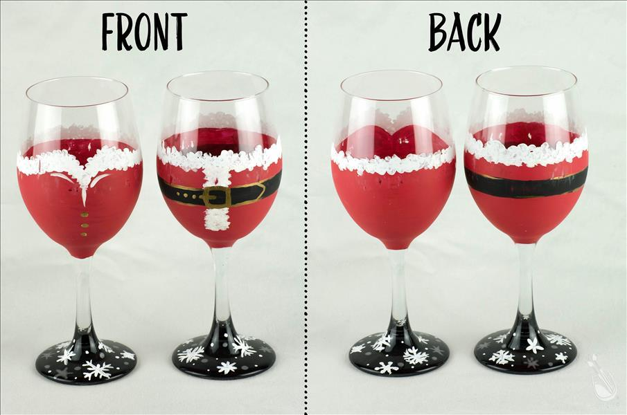 Santa - Glassware Set - Adults