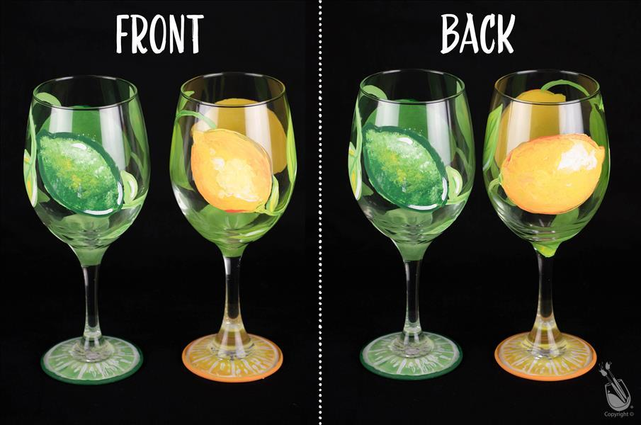 Wineglass Workshop - Lemons & Limes