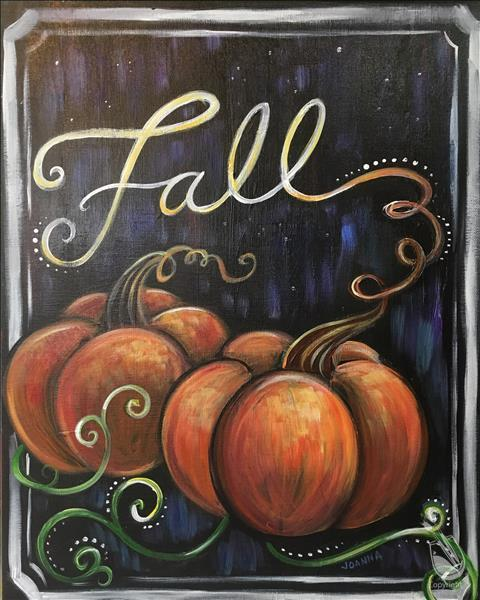 Pumpkins in Fall - $2 Off!
