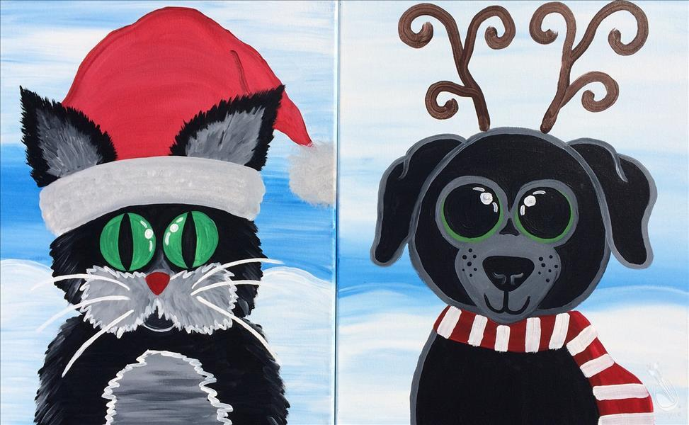 VIRTUAL CLASS~FAMILY CLASS~Christmas Animals - Set