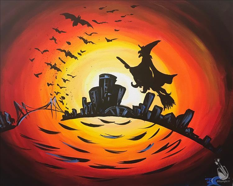 """You Could've Had a Bad Witch!"" Sip & Paint"