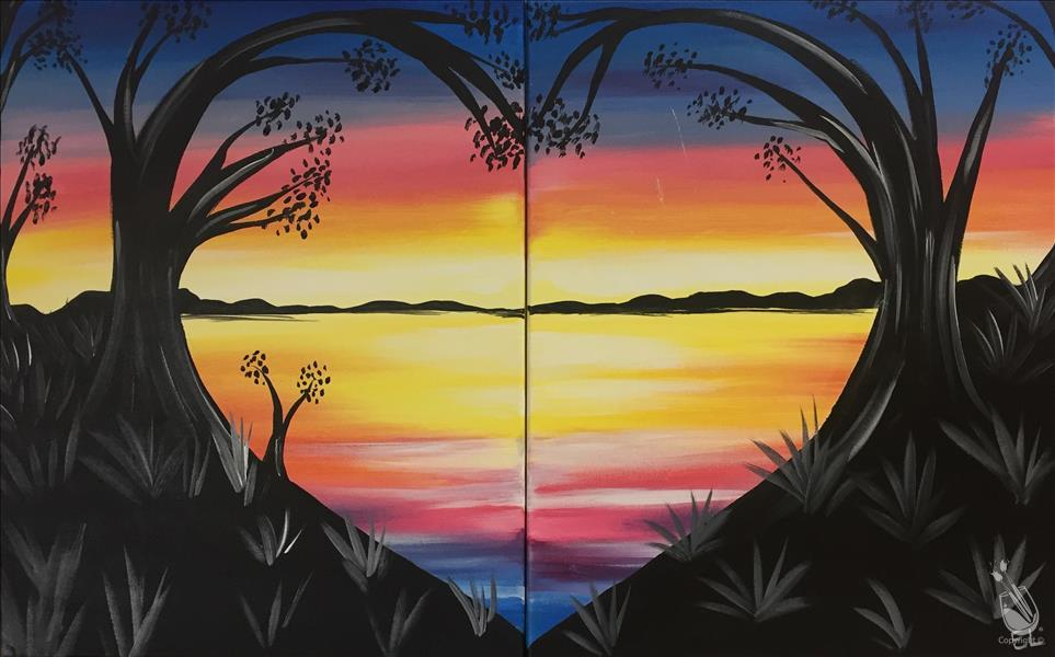 DATE NIGHT! Lovely Lake Sunset **LIMITED SEATING**