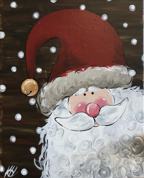 In Studio - Rustic Santa