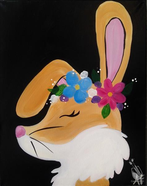 Flower Crown Animals - Bunny  **ALL AGES**