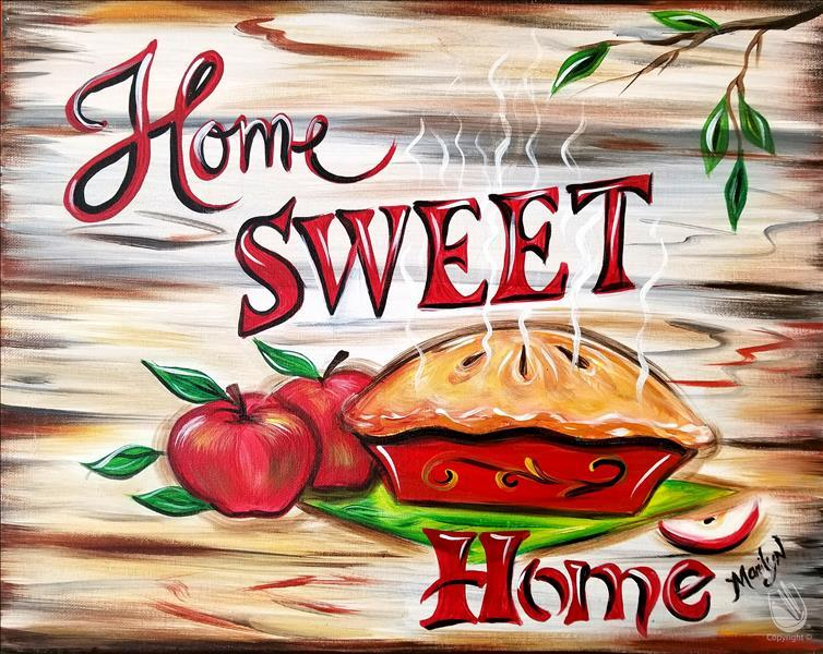 How to Paint Home Sweet Home  3Hr $45