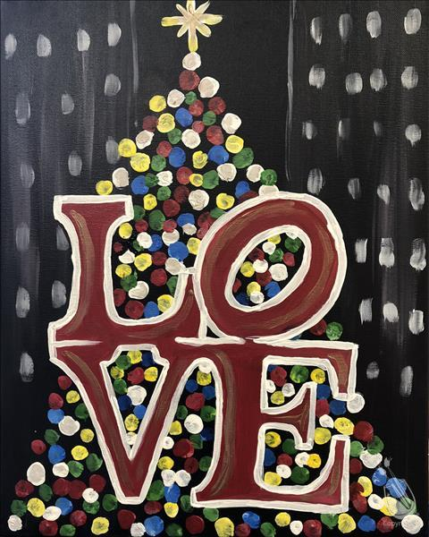 How to Paint PUBLIC PARTY Philly Christmas LOVE