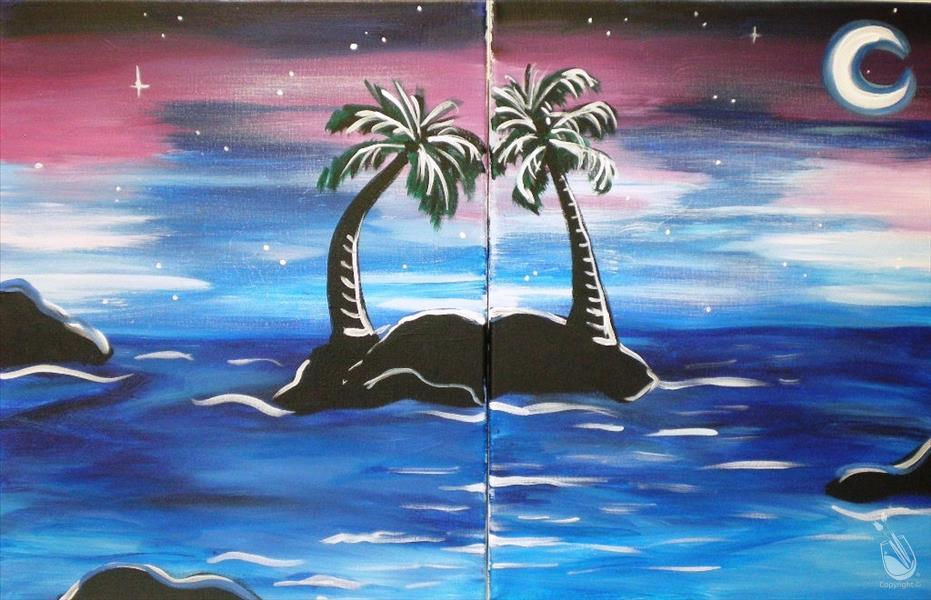 Date Night: Palms & The Moon  (Do as a set or SOLO