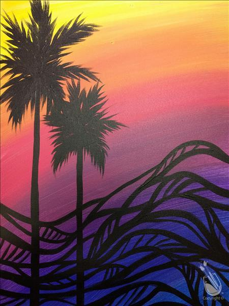 How to Paint FAMILY FUN: Zentangle Palms: ages 6+