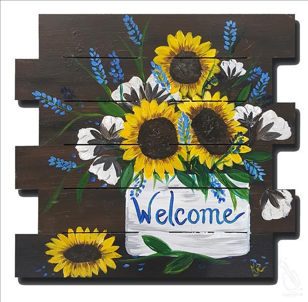 Sunflower Welcome