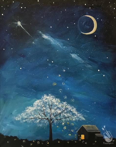 Cabin Under the Stars - In Studio Class!
