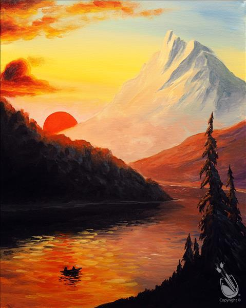 Virtual LIVE Paint Event - Mountainous Monday