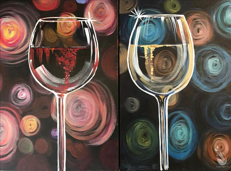 VALENTINE DATE NIGHT - Swirly Wine
