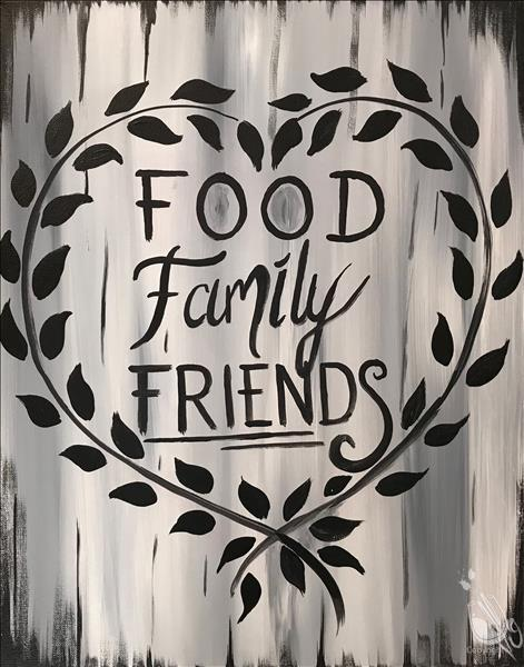 Seasonal Saturday - Food Family & Friends