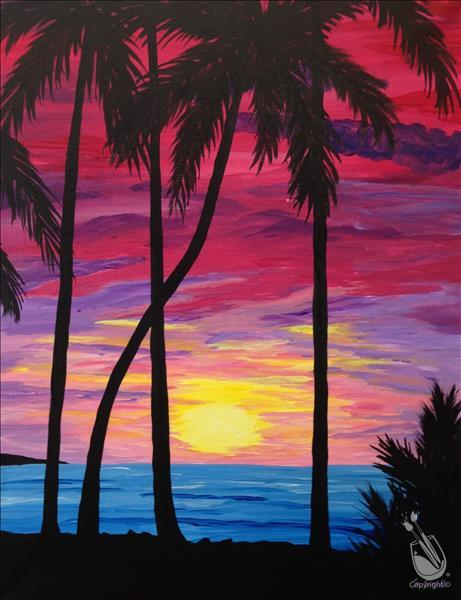 How to Paint Paradise Isle $35 Afternoon Special