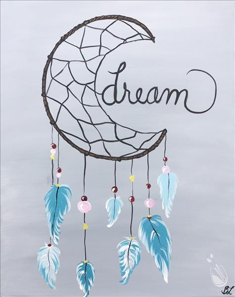 How to Paint Dream Catcher